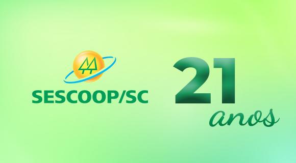 SESCOOP/SC completa 21 anos promovendo o desenvolvimento das cooperativas catarinenses